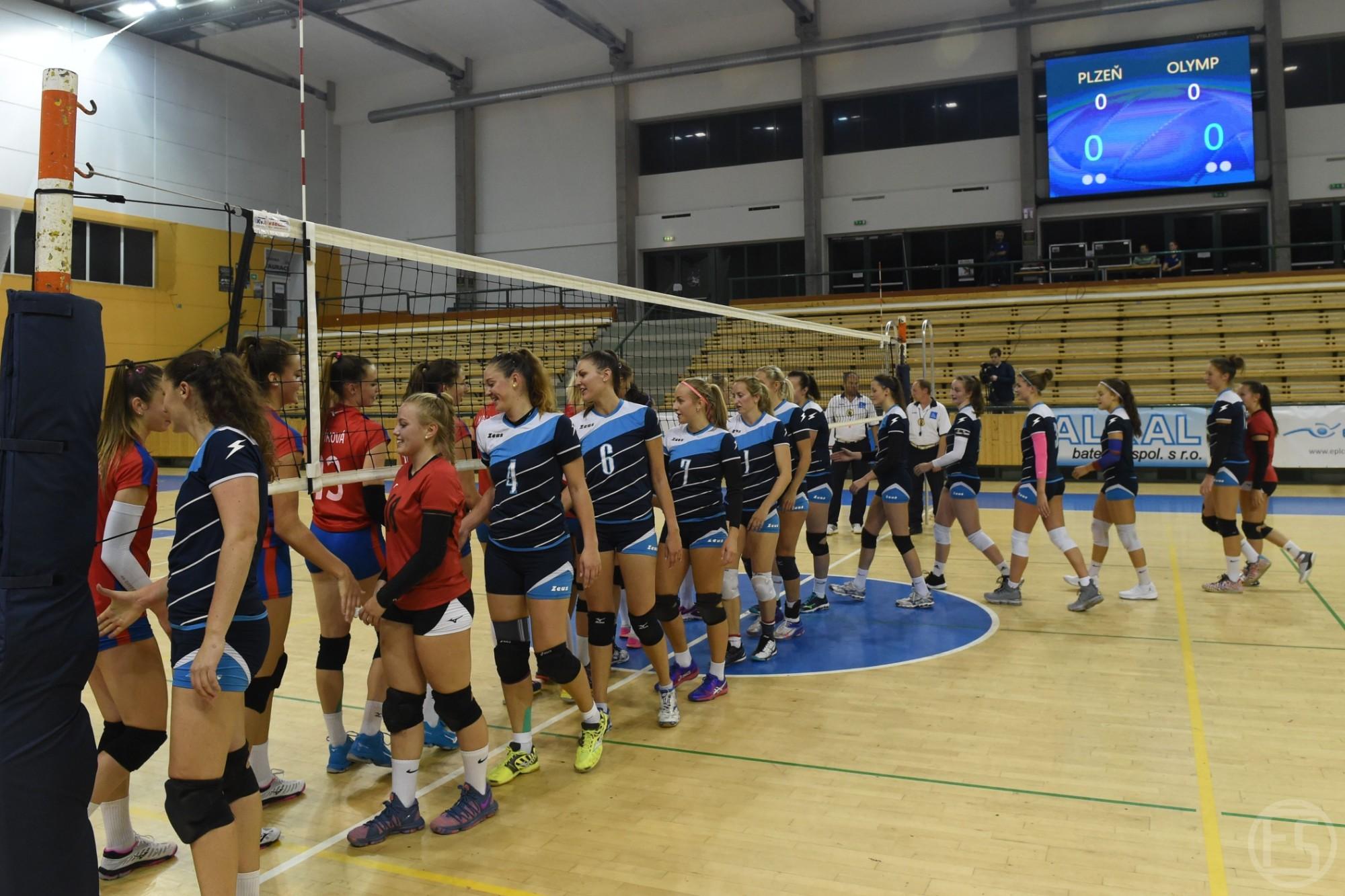 První půlka očima žen A - Ženy - 1.liga (2018/2019) | Volejbal Plzeň - TJ  Lokomotiva Plzeň a 15. ZŠ Plzeň
